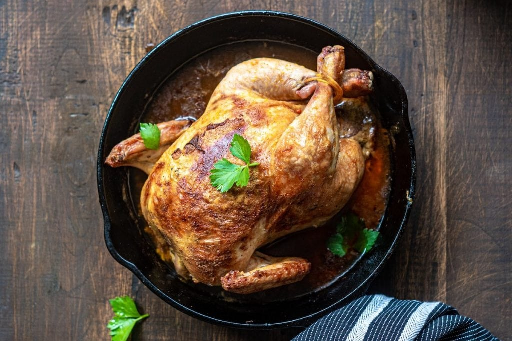 Hearty Roasted CBD Chicken Recipe