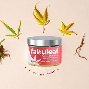 fabuleaf full spectrum hemp flower cbd cream