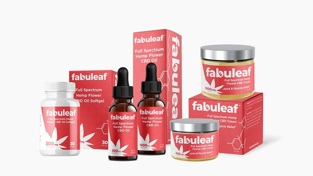 fabuleaf full spectrum CBD products