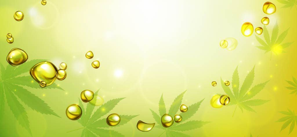 Marijuana Leaf & CBD Oil Image | Fabuleaf CBD Products