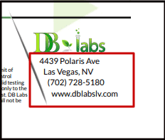 ISO Certified CBD Lab Report   fabuleaf