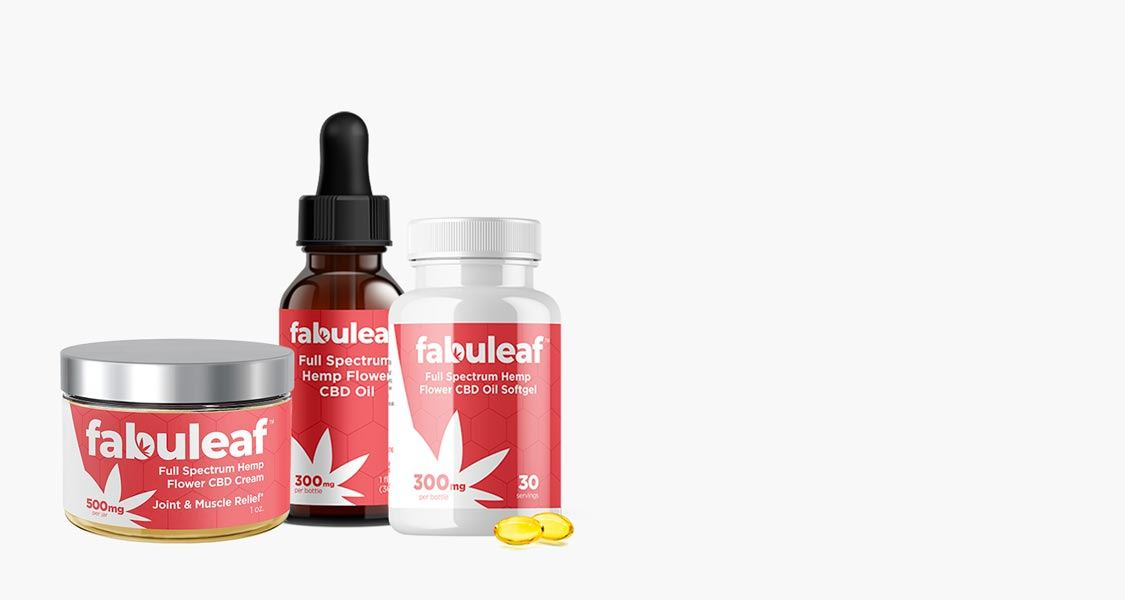 Shop fabuleaf™ Full Spectrum Hemp Flower CBD Products
